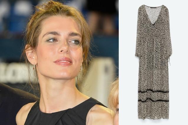 Abiti Da Sera Zara 2018.Charlotte Casiraghi E Le Nozze A Basso Costo Per Lei L Abito Zara