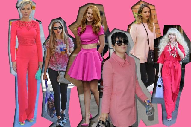 da sinistra: Scarlett Johansson, Amanda Seyfried, Bella Thorne, Lily Allen, Jessica Alba, Lady Gaga