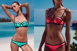 Triangl Bikini: il costume che esalta la forma del seno spopola in spiaggia (FOTO)