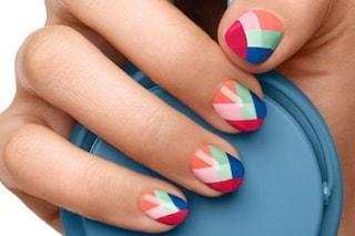 Le unghie della settimana: multicolor nail (FOTO)