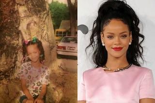Rihanna, Kim Kardashian e Cara Delvingne: riuscite a riconoscere le star da piccole?