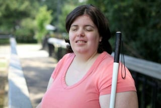 """Il disturbo psicologico le fa desiderare la disabilità: """"Sono felice di essere cieca"""""""