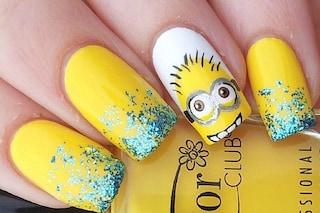 Le unghie della settimana: Minions Nails (FOTO)