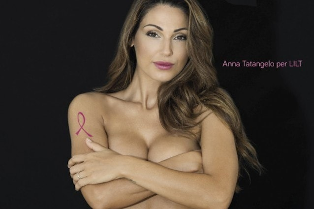Anna Tatangelo per Lilt