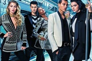Kendall Jenner, Gigi Hadid e Jourdan Dunn testimonial della campagna Balmain per H&M