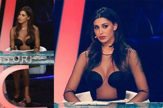Belén sexy sul palco: l'abito trasparente manda in delirio il pubblico (FOTO)