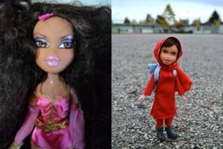 Niente trucco e abiti normali: le bambole si trasformano in eroine del nostro tempo