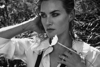 Kate Winslet sexy in bianco e nero: a 40 anni è ancora bellissima