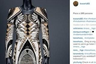 Balmain per H&M: 99 foto della collezione trapelate su Instagram prima del lancio