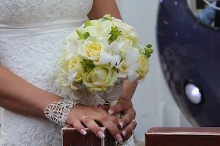 Unghie da sposa 2016: una nail art minimal ma di tendenza