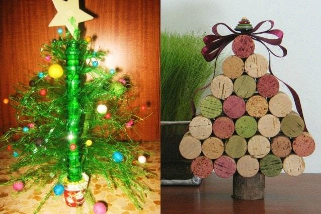 Idee Creative Natale 2016 : Idee creative per un albero di natale fai da te foto