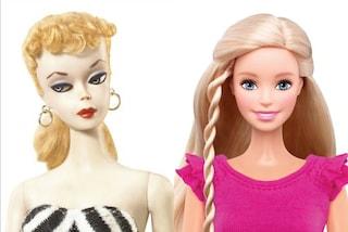 Com'è cambiato il look di Barbie dal 1959 ad oggi (FOTO)