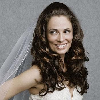 Semiraccolto ideale per capelli lunghi