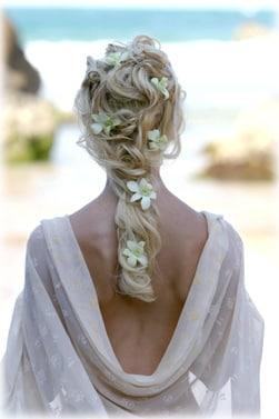 Raccolto basso con applicazione di fiori