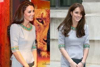 """Kate Middleton principessa del riciclo: """"rispolvera"""" l'abito indossato 3 anni fa (FOTO)"""