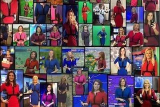 Perché le metereologhe americane indossano tutte lo stesso vestito?
