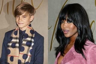 Romeo Beckham con Naomi Campbell star del Natale di Burberry (VIDEO)
