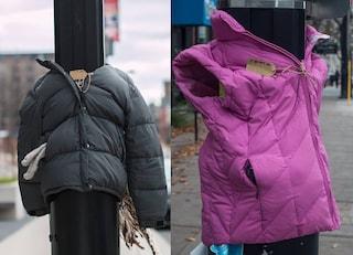 Distribuiscono giacche calde ai senzatetto in strada: il dolce gesto di mamma e figlia