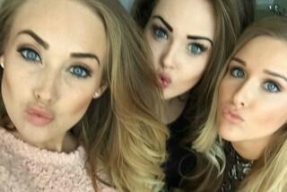 Pubblicano selfie e ricevono regali: le sorelle che guadagnano 75mila sterline l'anno
