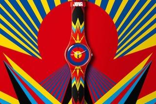 Jova Time, l'orologio realizzato da Jovanotti per Swatch
