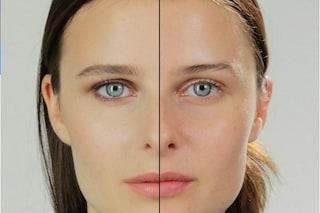 Il volto delle modelle senza trucco: come sono al naturale? (VIDEO)
