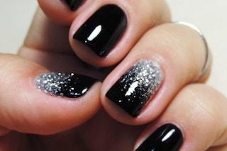 Le unghie della settimana: sparkling nails per la notte di Capodanno (FOTO)