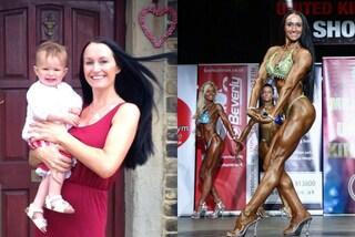 Fiona, la mamma che diventa body builder e trasforma il suo corpo in 10 mesi