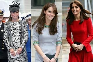 Tutte le volte che Kate Middleton ha riciclato un abito nel 2015 (FOTO)