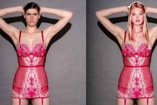 Rain Dove, la prima modella transgender che si trasforma in un angelo Victoria's Secret