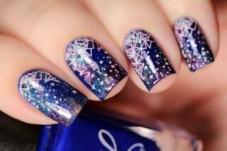 Le unghie della settimana: galaxy manicure (FOTO)