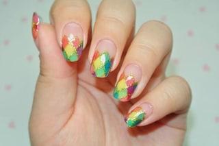 Le unghie della settimana: manicure Arlecchino per Carnevale (FOTO)