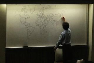 Il bimbo autistico disegna una mappa del mondo perfetta: ecco l'incredibile risultato