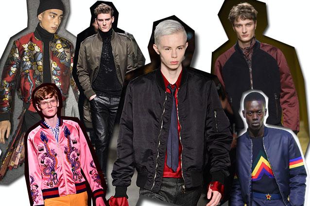 da sinistra Dsquared2, Gucci, Ermanno Scervino, CoSTUME NATIONAL Homme, Salvatore Ferragamo, Iceberg