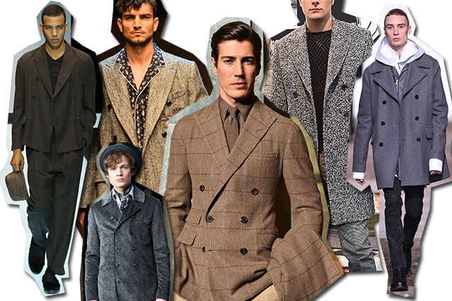 da sinistra Giorgio Armani, Dolce&Gabbana, Trussardi, Ralph Lauren, Tod's, Diesel Black Gold