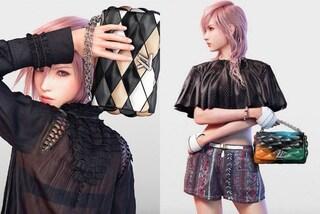 """L'eroina di """"Final Fantasy"""" diventa la nuova modella di Louis Vuitton (FOTO)"""