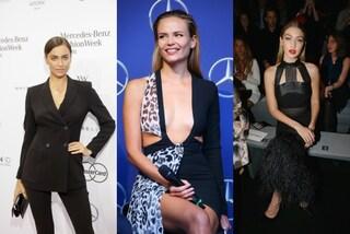 Gigi Hadid, Irina Shayk e Natasha Poly: le top model infiammano le passerelle tedesche