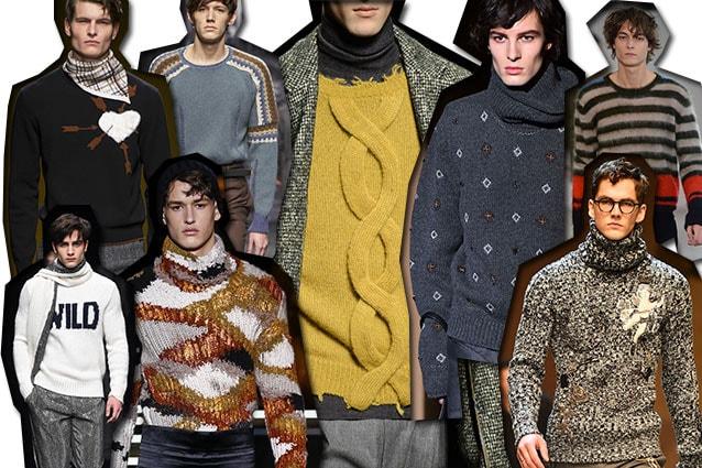 da sinistra Salvatore Ferragamo, Ermanno Scervino, Corneliani, Daks, Etro, Ermenegildo Zegna, N.21, Dolce e Gabbana