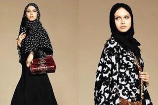 Abaya, la prima collezione firmata Dolce&Gabbana di veli e tuniche per donne mussulmane
