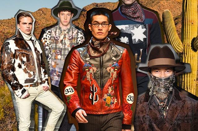 da sinistra Ralph Lauren, Antonio Marras, Dolce e Gabbana, Salvatore Ferragamo, Antonio Marras