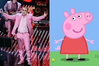 Melanzane, Peppa Pig, Elsa e Tiger Man: a cosa somigliano i protagonisti di Sanremo 2016?