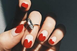 Le unghie della settimana: Valentine manicure (FOTO)