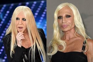 """""""Virginia, fammi da controfigura"""": Donatella Versace reagisce all'imitazione"""