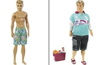 """""""Meno addominali, più pancetta"""": il web vuole che anche Ken diventi un uomo """"normale"""""""