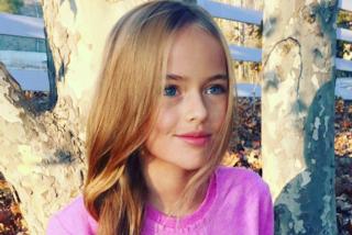 Kristina, la bambina più bella del mondo firma il suo primo contratto da modella