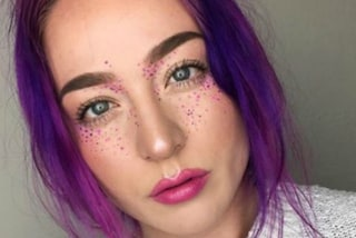 Rainbow Freckles: le lentiggini colorate sono l'ultimo make up trend (FOTO)