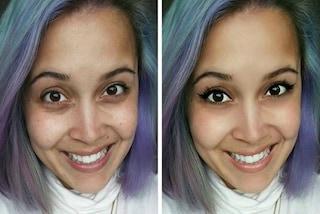 Ecco come Megan ha reso perfetto il suo volto su Instagram in pochi secondi