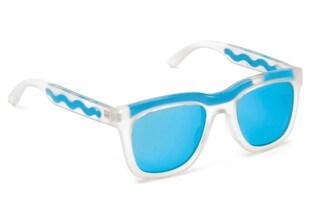 Liquido in movimento nella montatura degli occhiali: la nuova linea Italia Independent