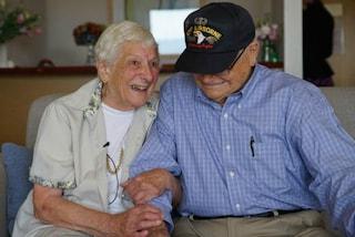 La guerra li aveva allontanati, i due fidanzati si ritrovano dopo 70 anni (VIDEO)