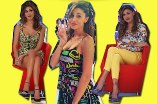 Belén veste Moschino: la svolta pop a colori della Rodriguez per la primavera