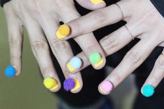 Le unghie della settimana: pon pon nails (FOTO)